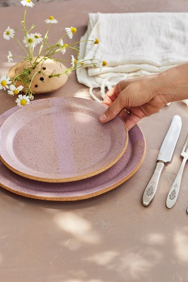 Dinner Plates, Pale pink