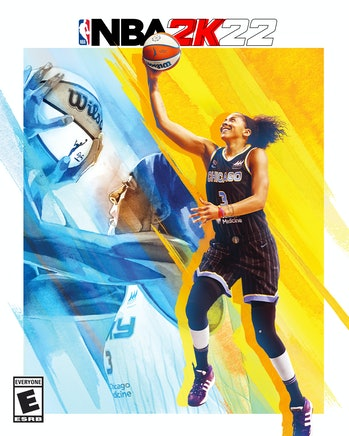 nba 2k22 candace parker cover