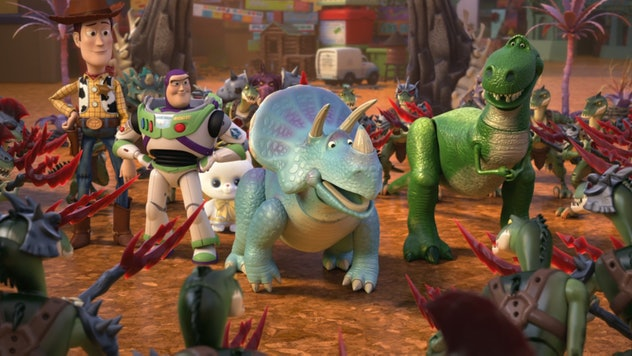 Toy Story That Time Forgot is an animated short film.