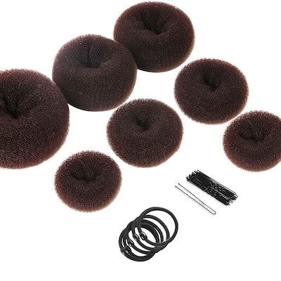 Teenitor Hair Bun Elastic Bands (7 Pieces)