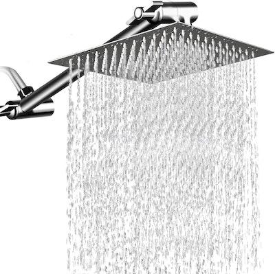MESUN 12 Inch High Pressure Showerhead with 11 Inch Arm