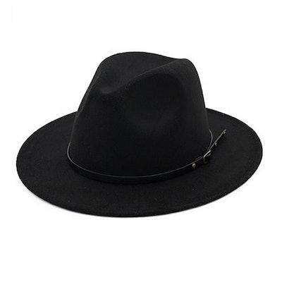Lisianthus Buckle Fedora Hat