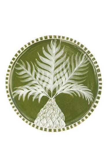 Handpainted Pineapple Dinner Plate