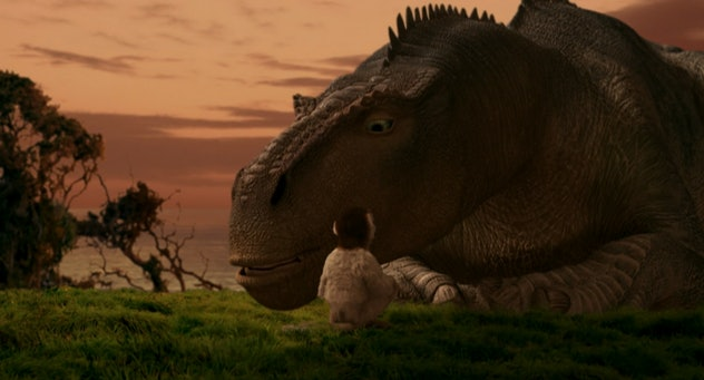 Dinosaur was one of Disney's first forays into CGI features.