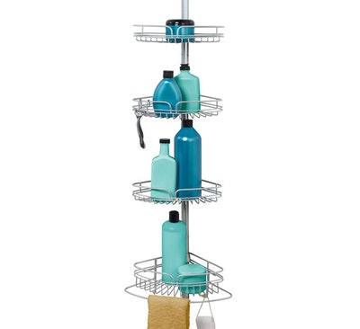 Zenna Home Shower Tension Pole Caddy
