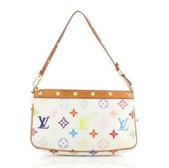 Louis Vuitton's rainbow monogrammed Pochette Bag.