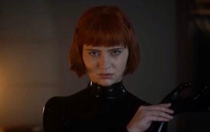 Sierra McCormick as Scarlett aka Rubber Woman in 'American Horror Stories'