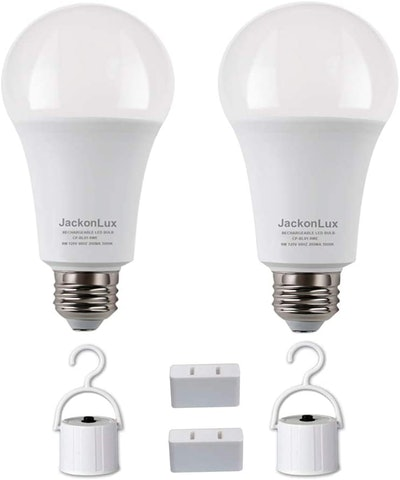 JackonLux Rechargeable Emergency LED Bulb (2-Pack)