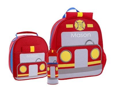 Mackenzie Little Critters Backpack Bundle - Firetruck