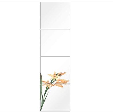 D&H Full Length Mirror Tiles (4 Pieces)