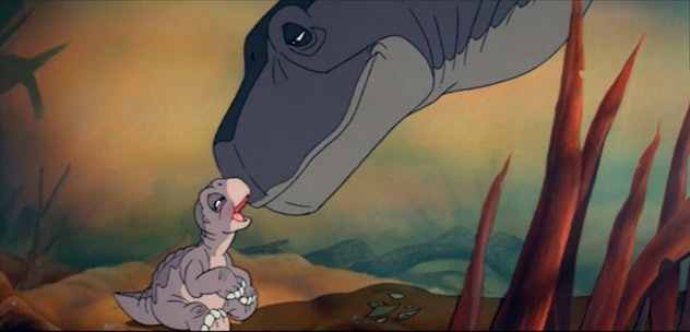 Land Before Time was produced by George Lucas and Stephen Spielberg.