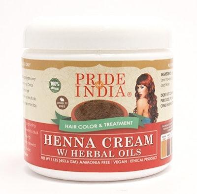 Pride Of India Henna Cream (454 Grams)