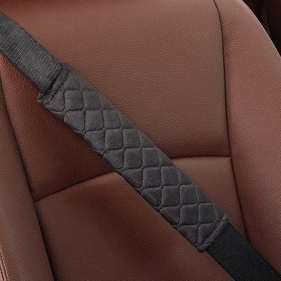 MIKAFEN Universal Car Seat Belt Pad (2-Pack)