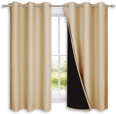 NICETOWN Full Blackout Curtain Panels (2 Pieces)