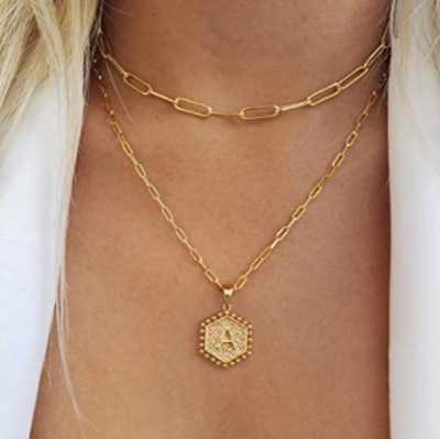 M MOOHAM Layered Necklace