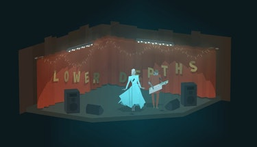 Kentucky Route Zero theater video games scenography
