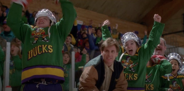 The Mighty Ducks is streaming on Disney+.