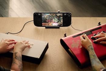 Valve Steam Deck promo image