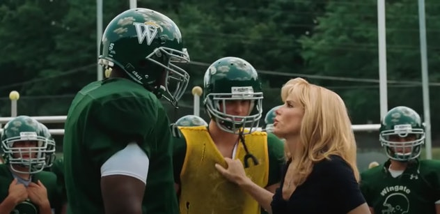 Sandra Bullock stars in 'The Blind Side'.