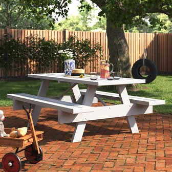 Windermere Rectangular 6 - Person Picnic Table