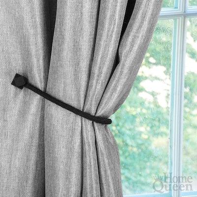 Home Queen Magnetic Curtain Tiebacks