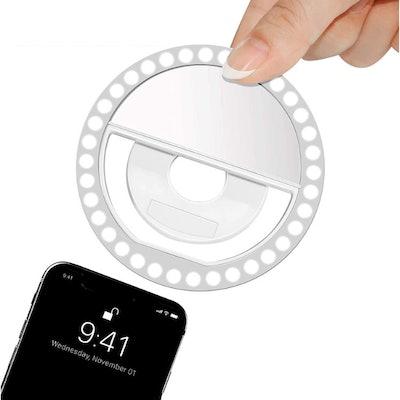 XINBAOHONG Clip-on Ring Light