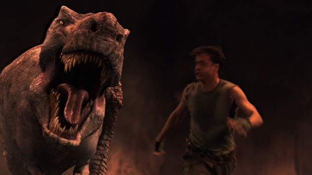 Journey to the Center of the Earth is a sci-fi dinosaur movie for kids.