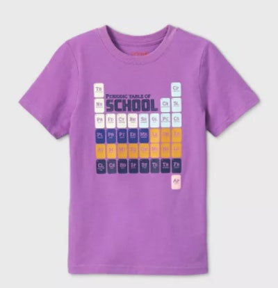Periodic Table back to school kid shirt