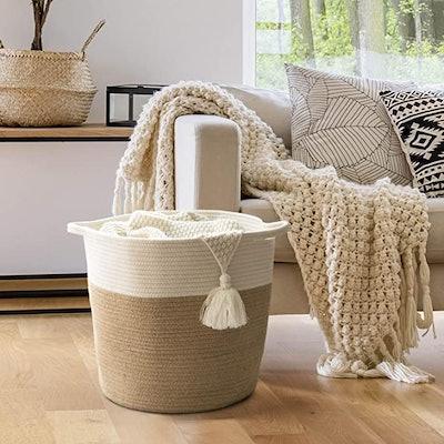 Goodpick Cotton Rope Storage Basket