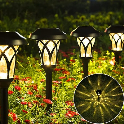 GIGALUMI Solar Pathway Lights (6-Pack)