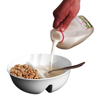 Just Solutions! Anti-Soggy Cereal Bowl