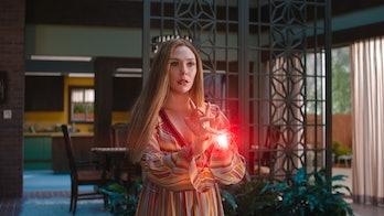 Elizabeth Olsen as Wanda Maximoff in WandaVision Episode 4