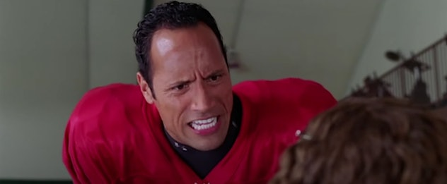 Dwayne 'The Rock' Johnson stars in The Game Plan.