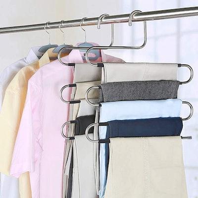 Myfolrena Pants Hangers (4-Pack)