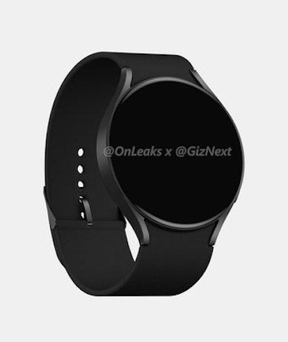 Samsung Galaxy Watch 4 render. Hardware. Wearables. Smart watches.