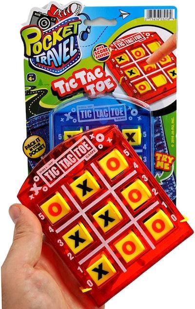 JA-RU Tic Tac Toe Travel Board Game