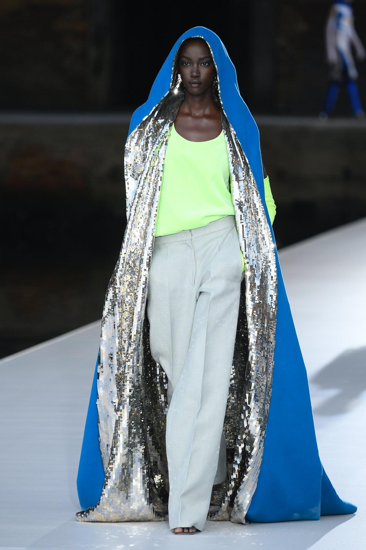 Model in Valentino Couture