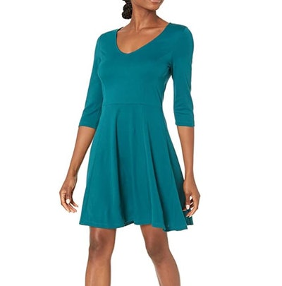Lark & Ro Fit and Flare Dress
