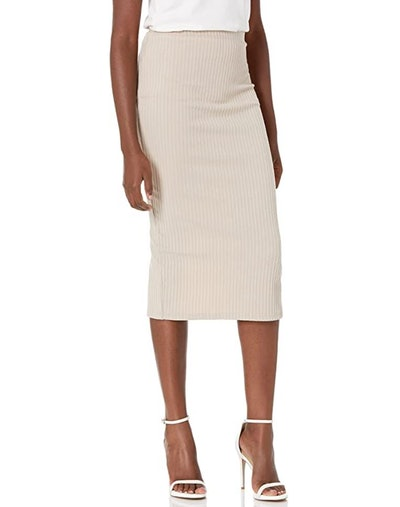 SheIn Ribbed Knit Skirt
