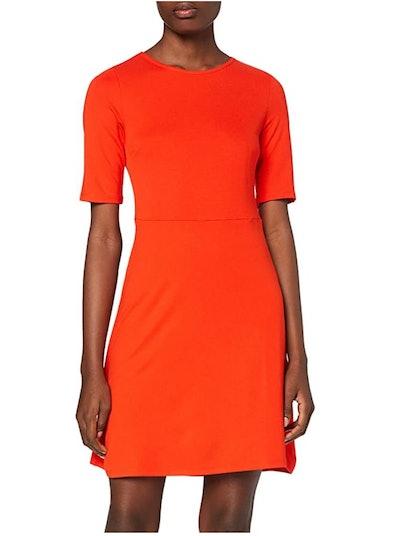 find. Short Sleeve Mini A-line Dress