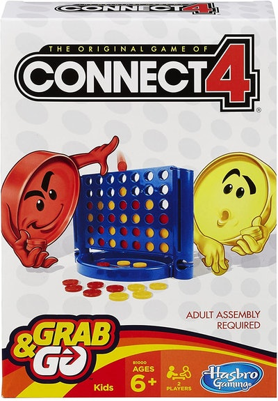 Hasbro Connect 4 Grab-And-Go Game