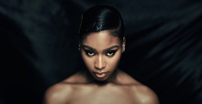"""A still from Normani's """"Waves"""" music video."""