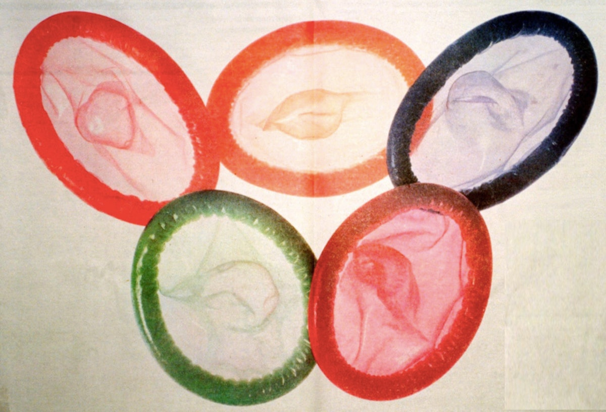 Athletes tend to have a lot of sex in the Olympic Village.