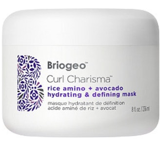 Curl Charisma Rice Amino + Avocado Hydrating & Defining Hair Mask for Curly Hair