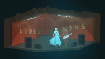 Kentucky Route Zero is a game punctuated with performance.