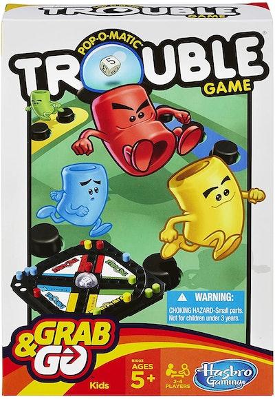 Hasbro Pop-O-Matic Trouble Grab & Go