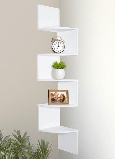 Greenco Corner Shelves