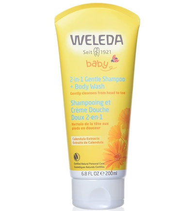 Weleda Calendula Baby 2-in-1 Gentle Shampoo and Body Wash