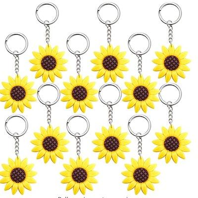 Sunflower Keychains Pendants