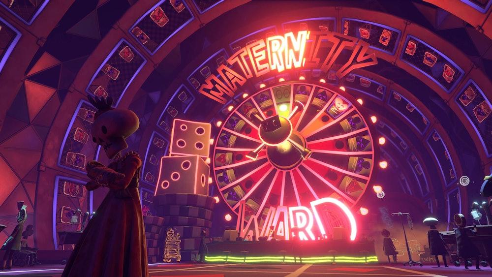 Psychonauts 2 Maternity Ward Casino Hospital Level